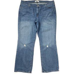 Levi's 590 Boot Cut Jeans Stretch 20 M (42Wx33L)